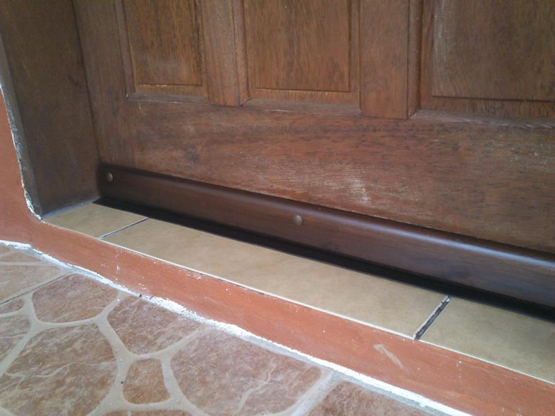 Z calos para puertas - Burletes de goma para puertas exteriores ...